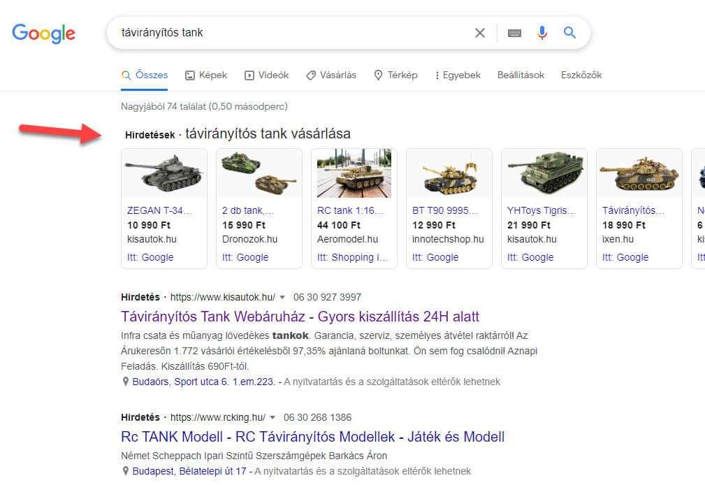 google shopping kisautok